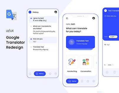 Google Translator Redesign