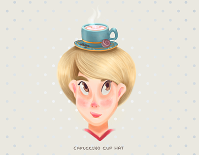 Capuccino Cup Hat