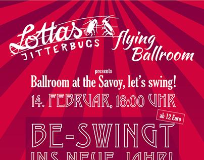 Swing-Flyer für das Savoy Berlin