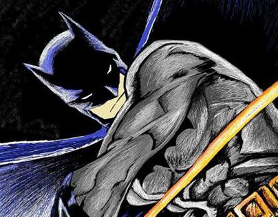 رسم لبات مان ببرنامج الرسام