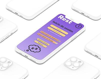 UX Estudio de Caso - Rest App