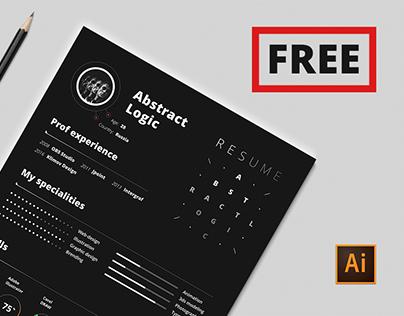 Free Resume Template | CV
