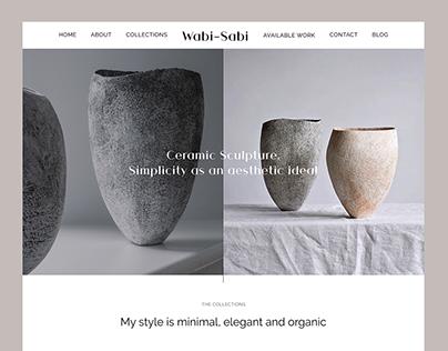 Wabi-Sabi — online store of ceramic products