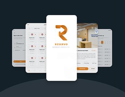 India Services Booking App UI/UX Deisgn