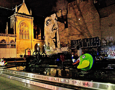 Pompidou: warum sind eure so klein?