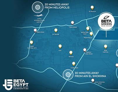 Beta Greens :: Location Map