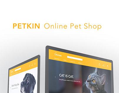 PETKIN Online Pet Shop XDDailyChallenge