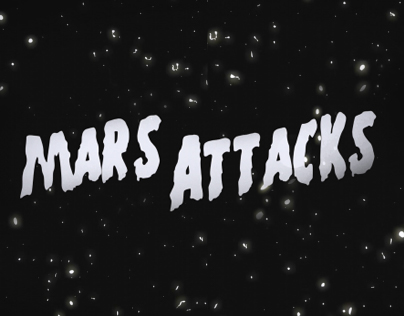 Mars Attacks! Title Sequence