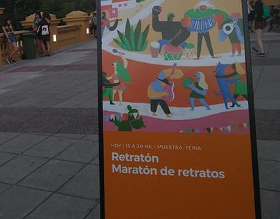 Retratón Centro Cultural Recoleta