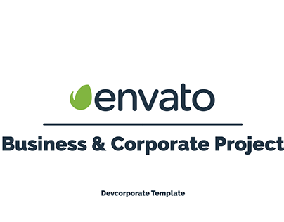 Free Corporate Slideshow Minimal After Effect Template
