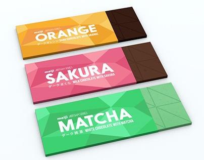 Meiji artisan choco series