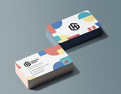 PR agency visit card