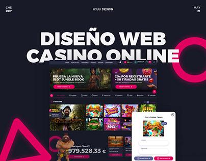 Rediseño Web Casino Online