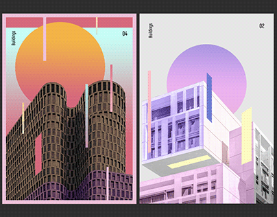 Posters - Buldings | vol.1