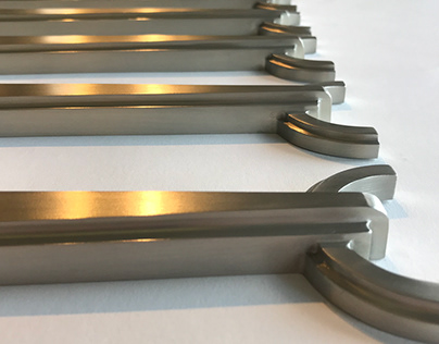 Cast and Precision Machined Spindles in Satin Nickel