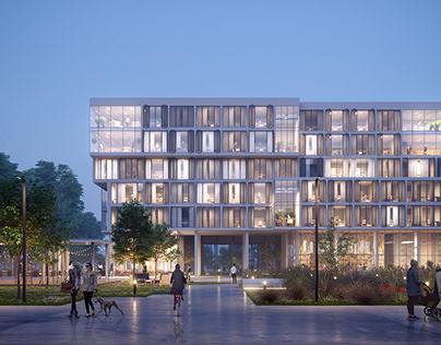 Student housing, University of Warsaw