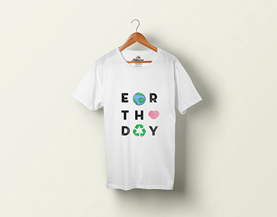 T-SHIRT DESIGN: Earth Day