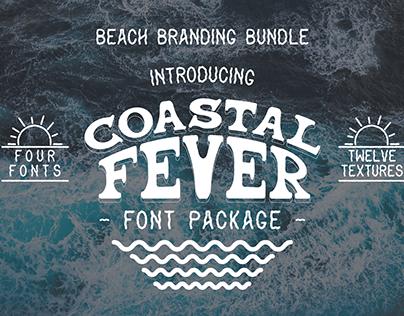 Coastal Fever - Font Package
