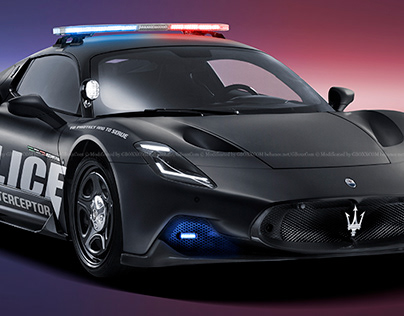 2020 Maserati MC20 Police Interceptor