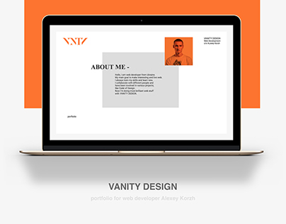 Portfolio for Alex by VANITY DESIGN