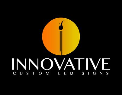 Innovative Custom LED Signs Logo Design