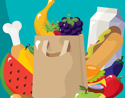 Collect Food {Game art}