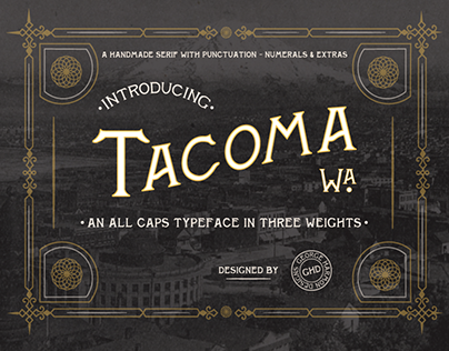 TACOMA-Serif Display Typeface