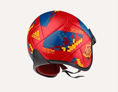 FIFA Fan made Helmet