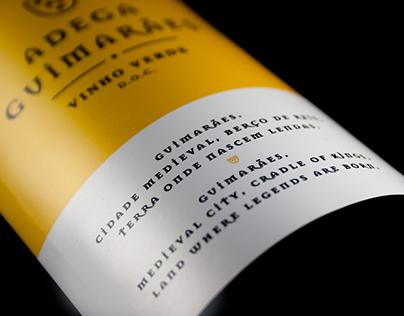 Adega Guimarães - Wine Label