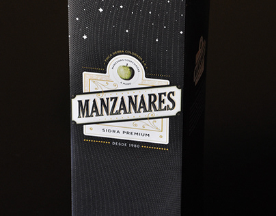 Packaging design - Cider premium brand