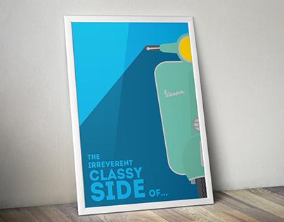 Vespa poster