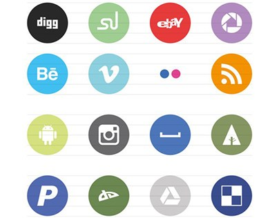 Social Media Icons Set Free Download