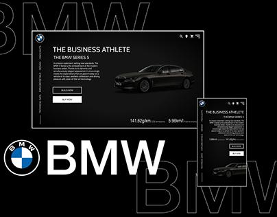 BMW Website Design