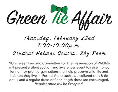 Green Tie Event -