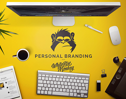 White Hot Monkey (personal branding)