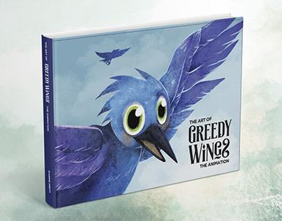Greedy Wings: Book Cover Design