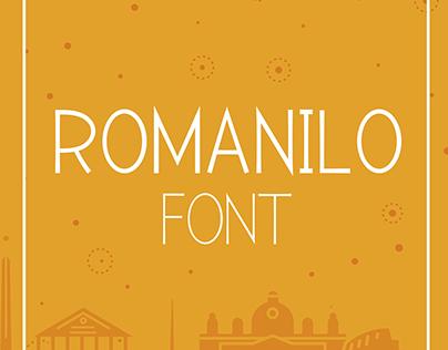 Romanilo Font