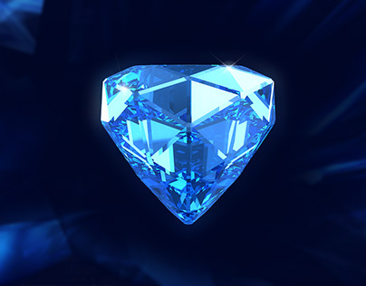 How to create crystal and diamond in Cinema 4d