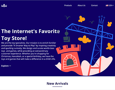 Toy Website