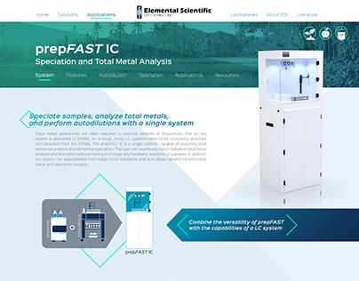 Elemental Scientific Interactive Display
