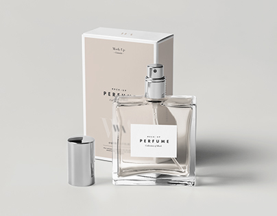 Perfume Mock-up