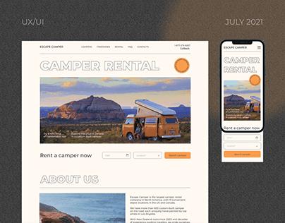 Service | Escape camper rental