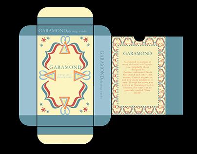 Garamond Playing Cards
