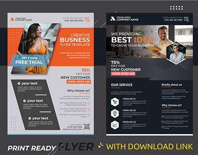 Corporate Flyer design template   Pavel_design