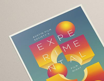 Experimental Film Night - Poster