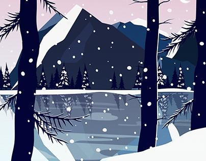 Illustration - Magie Hivernale