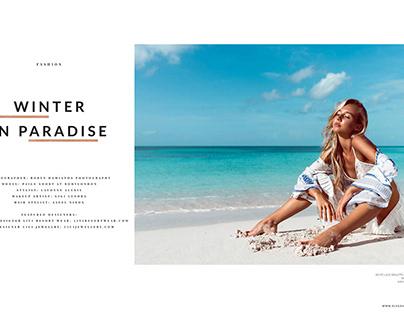 Elegant Magazine Cover and Editorial