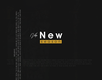 New Season - New Hope, 2018/19