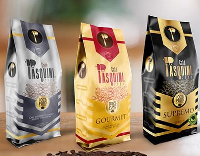 Coffee Pasquini - Re-Branding
