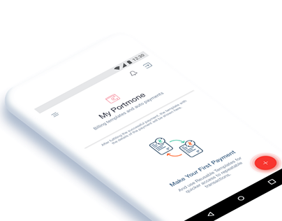 Android app redesign concept